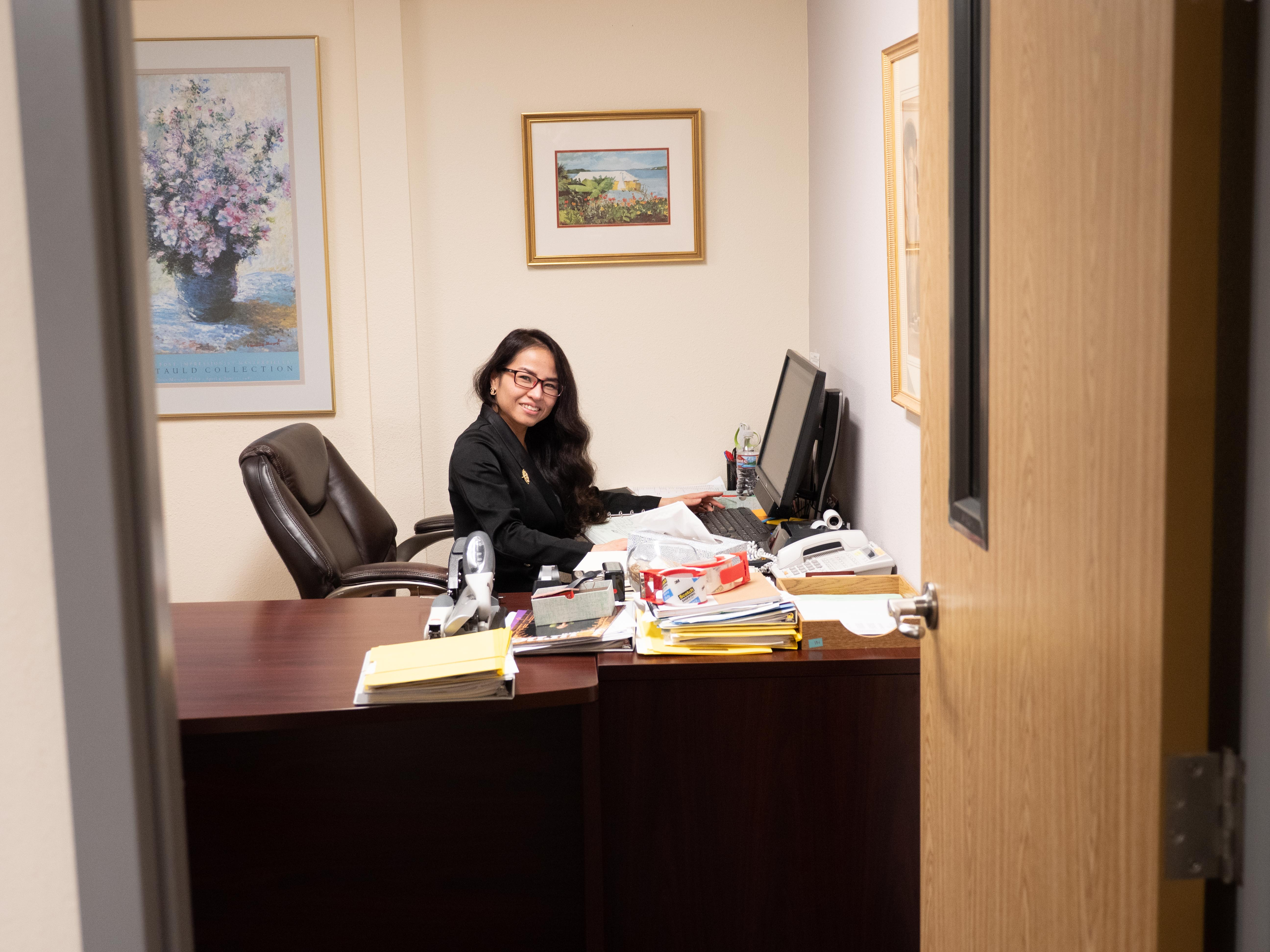 Anne Avery office picture