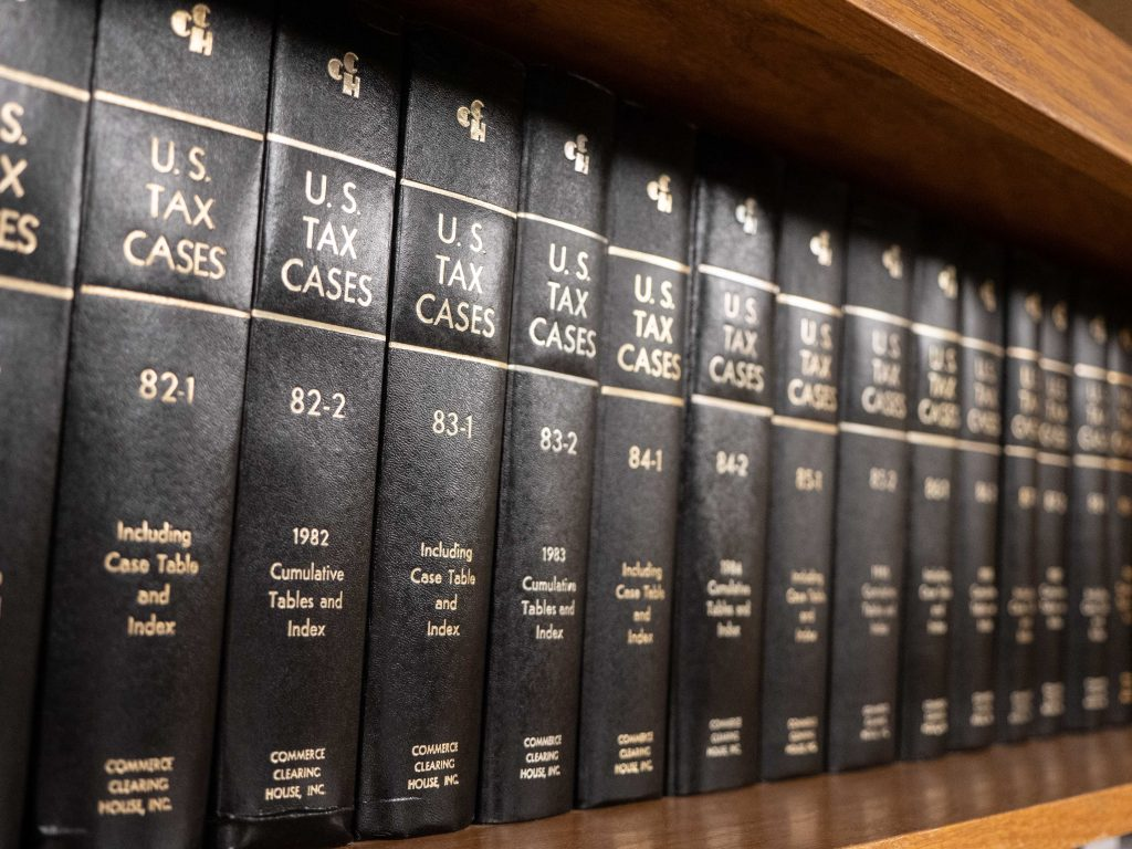 U.S. Tax Cases books photo